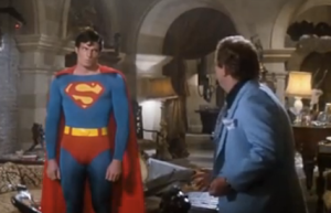 Superman does not deal with minions. This look is all sass.